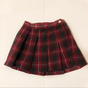 Plaid Nautical Girls 2T skirt